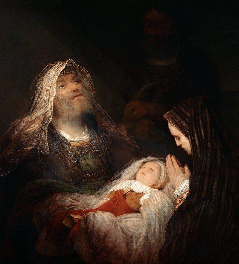 Aert de Gelder - Het loflied van Simeon