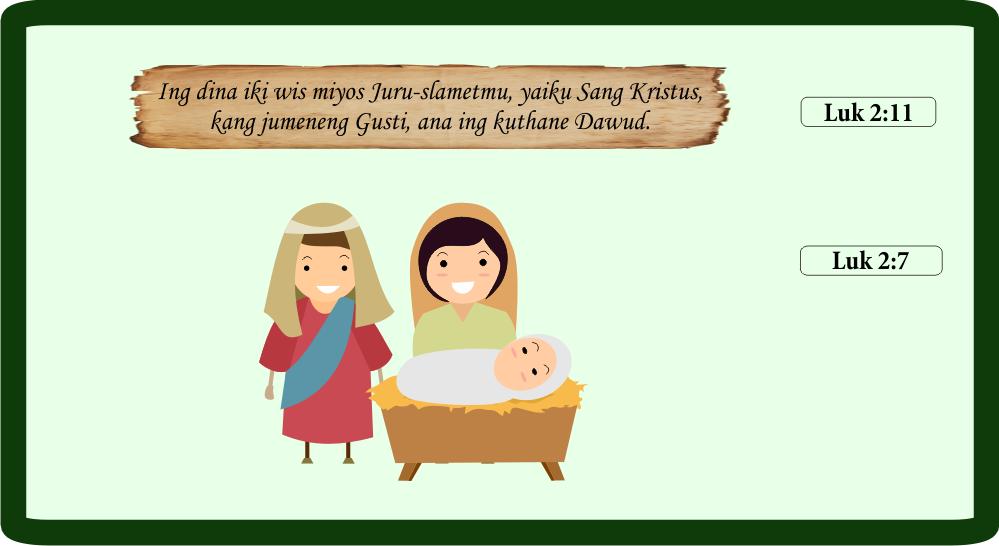 Lukas 2:7,11