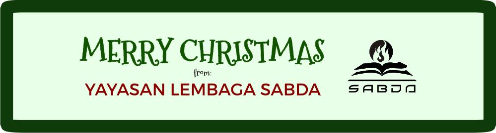 Selamat Natal dari SABDA